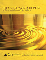 My critique of Value of Academic Libraries and a happy update