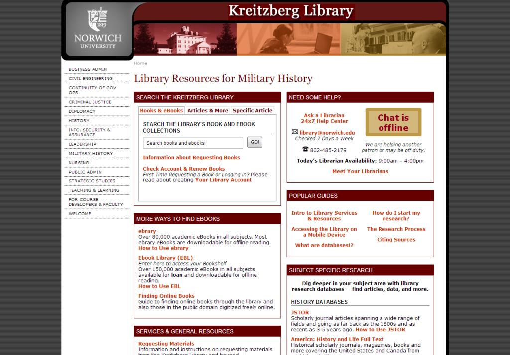 library defense blog