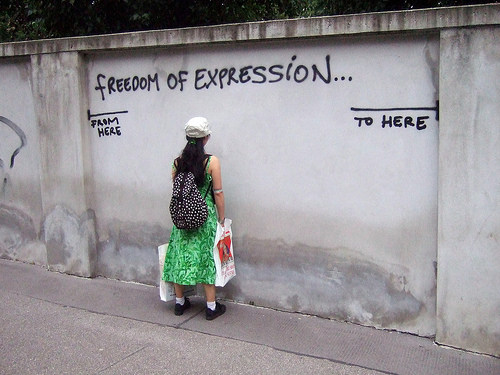 Creating safe spaces vs. freedom of expression