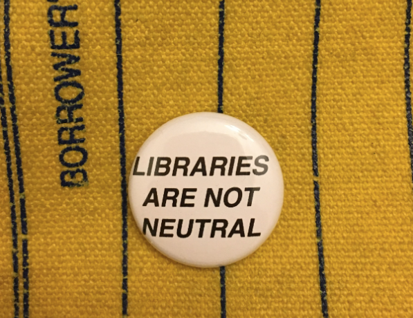 When libraries and librarians pretend to be neutral, they often cause harm